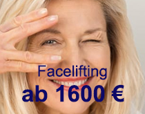 Kostenangebot Facelifting
